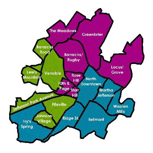 List of Charlottesville neighborhoods - Cvillepedia