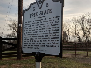 Plaque about Free State community.jpg